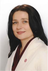 Gegužių progimnazijos direktorė. Progimnazijos nuotrauka.