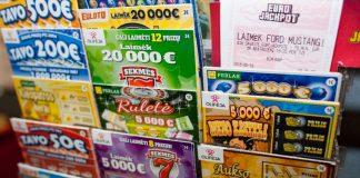 Pavogti 22 loterijos bilietai.