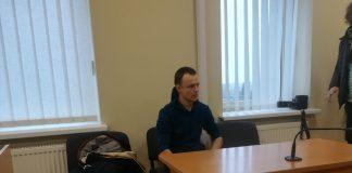 """""""Profesionalus"""" eismo įvykių provokatorius Vildis Slabovas."""