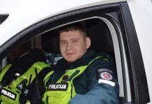 Pareigūnas Ruslanas Pocevičius nedarbo metu sulaikė moterį apvogusį šiaulietį